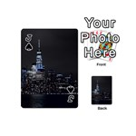 New York Skyline New York City Playing Cards 54 (Mini) Front - SpadeJ
