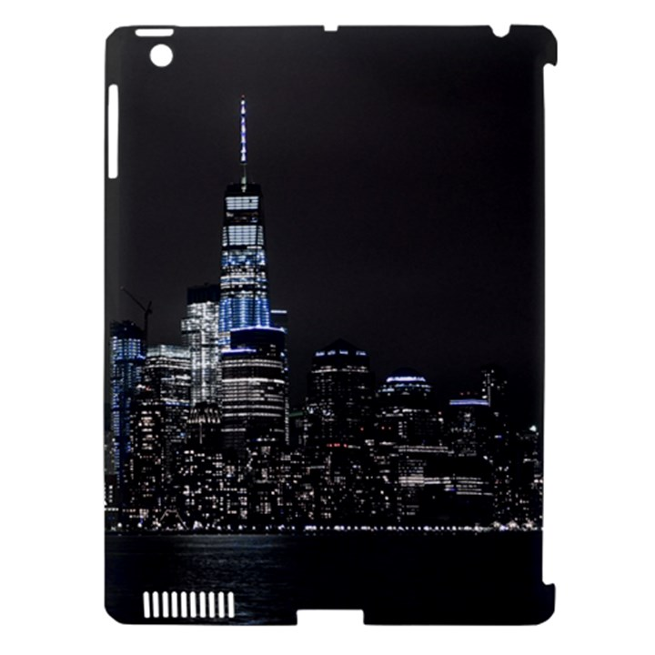New York Skyline New York City Apple iPad 3/4 Hardshell Case (Compatible with Smart Cover)