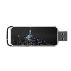 New York Skyline New York City Portable Usb Flash (two Sides)