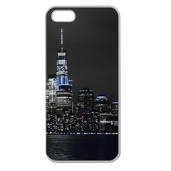 New York Skyline New York City Apple Seamless Iphone 5 Case (clear)