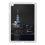New York Skyline New York City Apple iPad Mini Case (White) Front