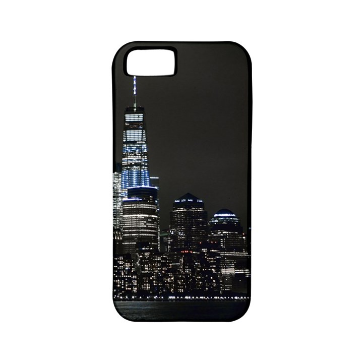 New York Skyline New York City Apple iPhone 5 Classic Hardshell Case (PC+Silicone)