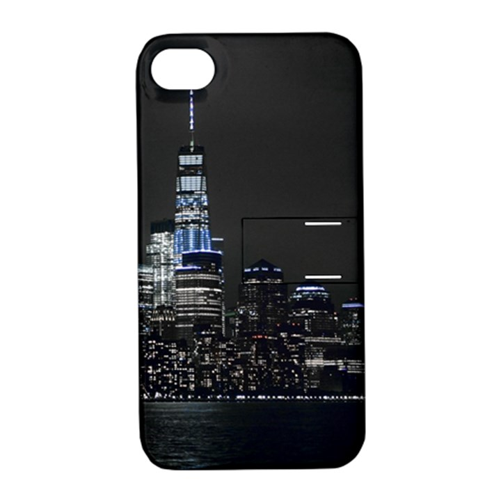 New York Skyline New York City Apple iPhone 4/4S Hardshell Case with Stand