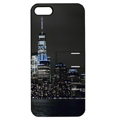 New York Skyline New York City Apple Iphone 5 Hardshell Case With Stand