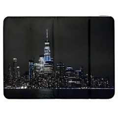 New York Skyline New York City Samsung Galaxy Tab 7  P1000 Flip Case by Nexatart