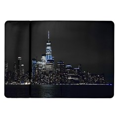New York Skyline New York City Samsung Galaxy Tab 10 1  P7500 Flip Case