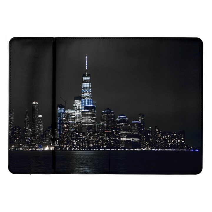 New York Skyline New York City Samsung Galaxy Tab 10.1  P7500 Flip Case
