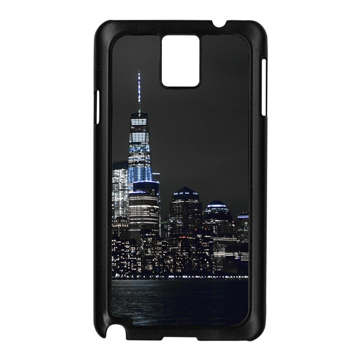 New York Skyline New York City Samsung Galaxy Note 3 N9005 Case (Black)