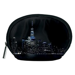 New York Skyline New York City Accessory Pouch (medium)