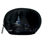 New York Skyline New York City Accessory Pouch (Medium) Front