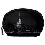 New York Skyline New York City Accessory Pouch (Large) Front