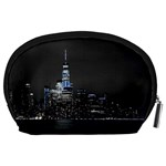 New York Skyline New York City Accessory Pouch (Large) Back