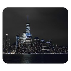 New York Skyline New York City Double Sided Flano Blanket (small)  by Nexatart
