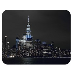New York Skyline New York City Double Sided Flano Blanket (medium)  by Nexatart