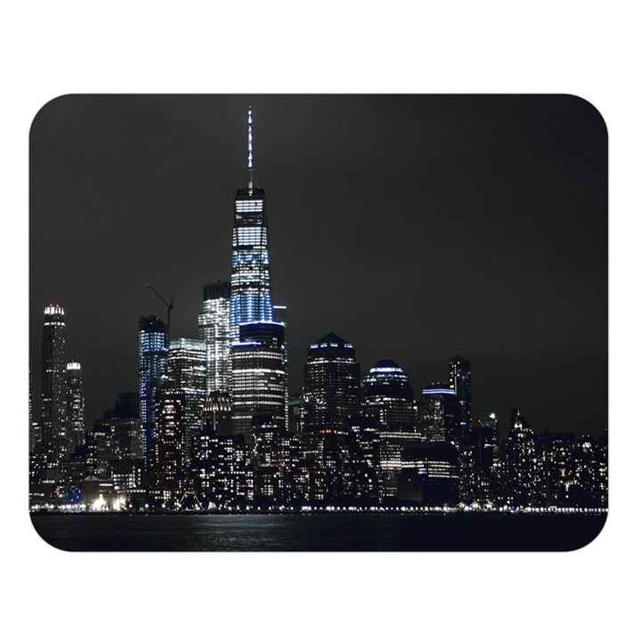 New York Skyline New York City Double Sided Flano Blanket (Large)