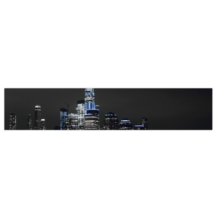 New York Skyline New York City Small Flano Scarf