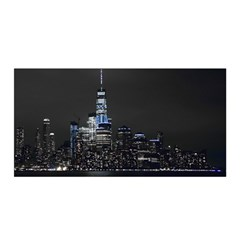 New York Skyline New York City Satin Wrap