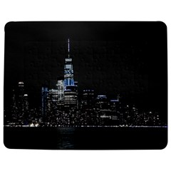 New York Skyline New York City Jigsaw Puzzle Photo Stand (rectangular)