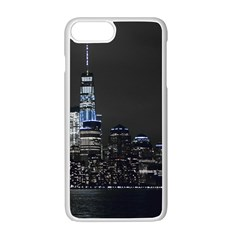 New York Skyline New York City Apple Iphone 7 Plus Seamless Case (white)