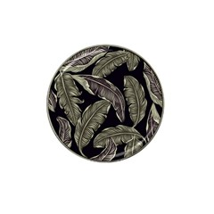 Jungle Leaves Tropical Pattern Hat Clip Ball Marker by Nexatart