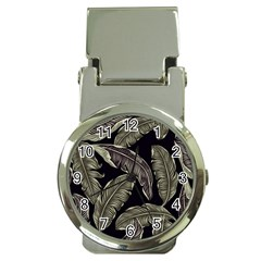 Jungle Leaves Tropical Pattern Money Clip Watches