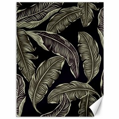 Jungle Leaves Tropical Pattern Canvas 36  X 48