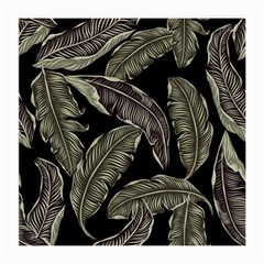 Jungle Leaves Tropical Pattern Medium Glasses Cloth (2 Side)