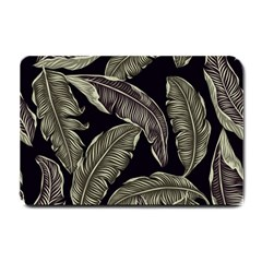 Jungle Leaves Tropical Pattern Small Doormat