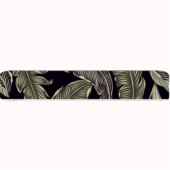 Jungle Leaves Tropical Pattern Small Bar Mats