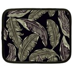 Jungle Leaves Tropical Pattern Netbook Case (Large) Front