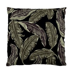 Jungle Leaves Tropical Pattern Standard Cushion Case (one Side) by Nexatart