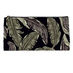 Jungle Leaves Tropical Pattern Pencil Cases Front