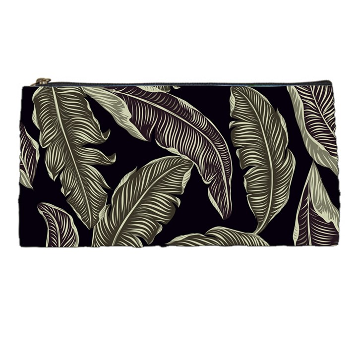 Jungle Leaves Tropical Pattern Pencil Cases