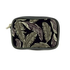 Jungle Leaves Tropical Pattern Coin Purse