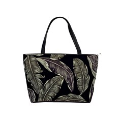 Jungle Leaves Tropical Pattern Classic Shoulder Handbag by Nexatart