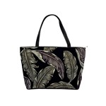 Jungle Leaves Tropical Pattern Classic Shoulder Handbag Front