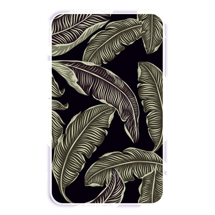 Jungle Leaves Tropical Pattern Memory Card Reader (Rectangular)