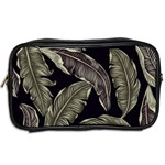 Jungle Leaves Tropical Pattern Toiletries Bag (Two Sides) Back