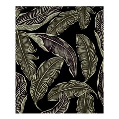 Jungle Leaves Tropical Pattern Shower Curtain 60  X 72  (medium)