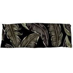 Jungle Leaves Tropical Pattern Body Pillow Case Dakimakura (two Sides) by Nexatart