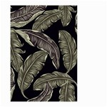 Jungle Leaves Tropical Pattern Small Garden Flag (Two Sides) Back