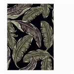 Jungle Leaves Tropical Pattern Large Garden Flag (Two Sides) Back