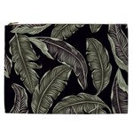 Jungle Leaves Tropical Pattern Cosmetic Bag (XXL) Front