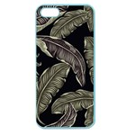 Jungle Leaves Tropical Pattern Apple Seamless iPhone 5 Case (Color) Front