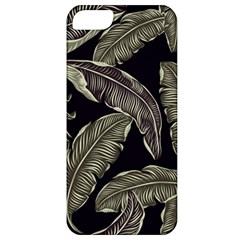 Jungle Leaves Tropical Pattern Apple Iphone 5 Classic Hardshell Case