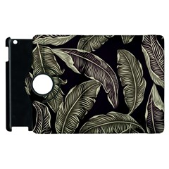 Jungle Leaves Tropical Pattern Apple Ipad 3/4 Flip 360 Case