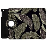 Jungle Leaves Tropical Pattern Apple iPad Mini Flip 360 Case Front