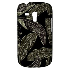 Jungle Leaves Tropical Pattern Samsung Galaxy S3 Mini I8190 Hardshell Case