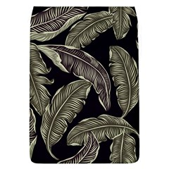 Jungle Leaves Tropical Pattern Removable Flap Cover (l) by Nexatart