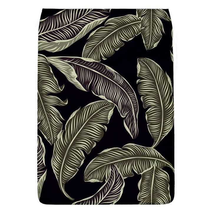 Jungle Leaves Tropical Pattern Removable Flap Cover (L)